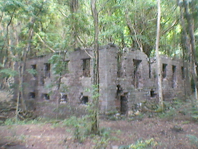 Fort Shirley ruins at Cabritz national park
